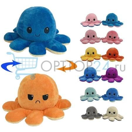 Мягкая игрушка выворачивающийся осьминог оптом