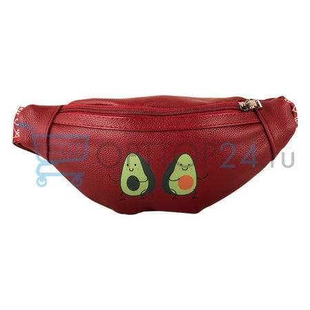 Поясная сумка с авокадо оптом