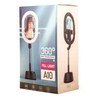 Овальная светодиодная кольцевая лампа A10