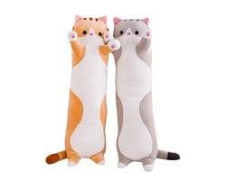 Мягкая игрушка кот батон 70 см