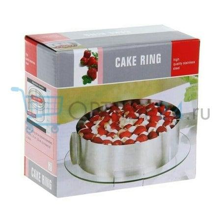 Регулируемая форма Cake Ring для выпечки оптом
