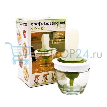Набор кулинарный для обмазывания Chef's basting set оптом