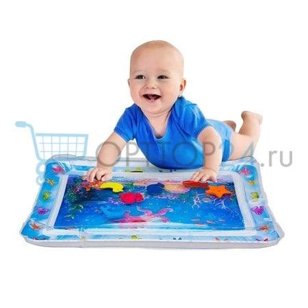 Надувной развивающий водный коврик Baby slapped Pad оптом