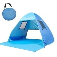 Пляжная палатка с окнами