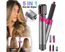 Фен утюжок для волос Hot Air Styler 5 в 1