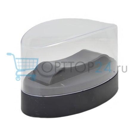 Пластиковая закругленная коробка для часов оптом