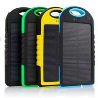 Power Bank на солнечных батареях 5000 mah