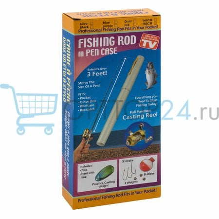 Мини-удочка в форме ручки FISHING ROD IN PEN CASE оптом