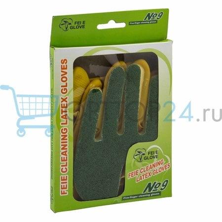 Перчатки латексные FEIE Cleaning Latex Gloves оптом в Москве