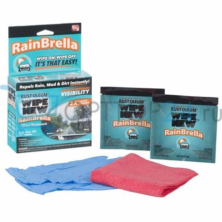 Состав для автомобильных  стекол Wipe New RainBrella оптом