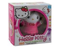 Вращающаяся игрушка со звуковыми эффектами Hello kitty Glitter Slewing Ring