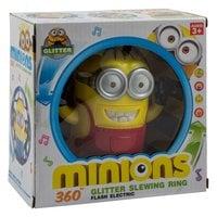 Вращающаяся игрушка со звуковыми эффектами Minions Glitter Slewing Rin