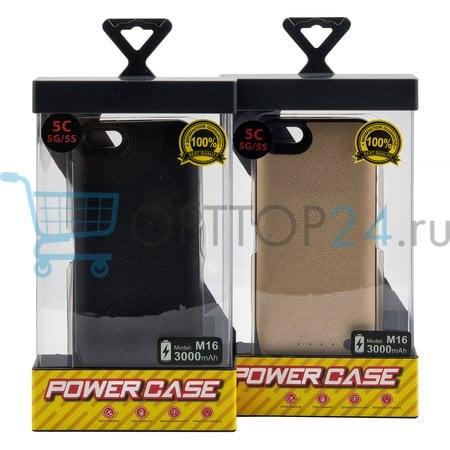 Чехол-аккумулятор Power Case M16  для iPhone SE/5S/5 оптом