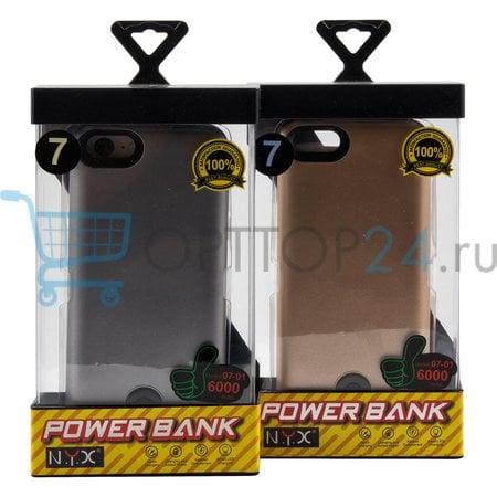 Чехол-аккумулятор Power Case 07-01 6000mAh для iPhone 7 оптом