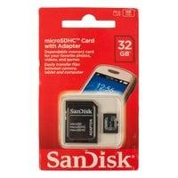 Карта памяти MicroSDHC SanDISK 32GB
