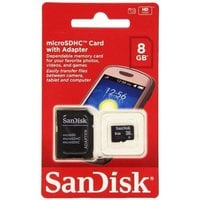 Карта памяти MicroSDHC SanDISK 8GB