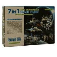 Конструктор на солнечной батареи Space Fleet 7 в 1