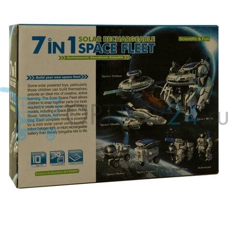 Конструктор на солнечной батареи Space Fleet 7 в 1 оптом