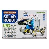 Робот-конструктор Solar на солнечных батареях 14 в 1