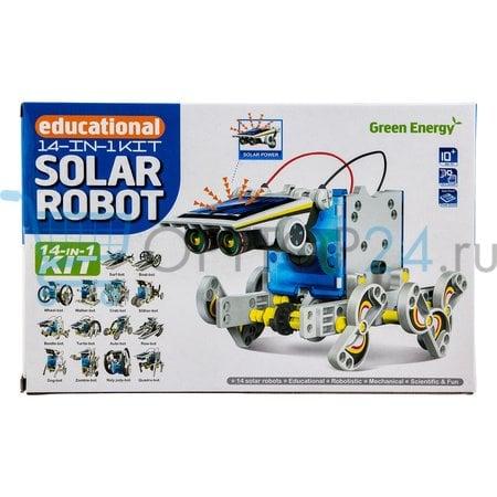 Робот-конструктор Solar на солнечных батареях 14 в 1 оптом