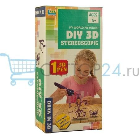 3D ручка Diy 3D Stereoscopic купить оптом со склада в Москве