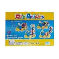 Паровоз на радиоуправлении Diy Bricks