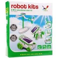 Игрушка-конструктор Solar Robot Kit 6 в 1