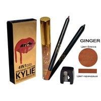 Матовый блеск KYLIE + карандаш для губ 4в1
