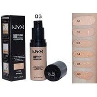 Тональный крем NYX hd foundation