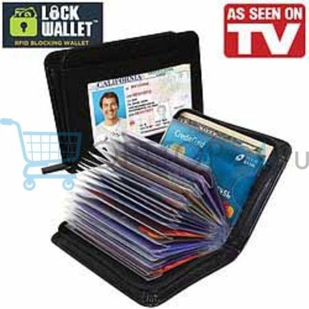 Футляр для документов и карточек Кардхолдер Lock Wallet оптом
